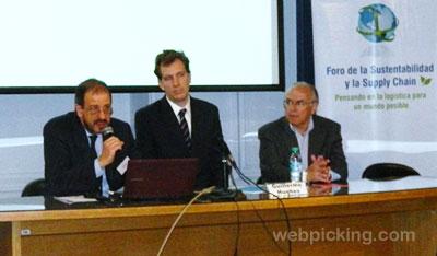 Apertura del Foro: Rodolfo Fiadone, Andrés Agrés y Jorge Tesler