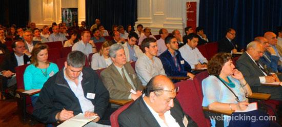 Público en el Aula Magna de ITBA
